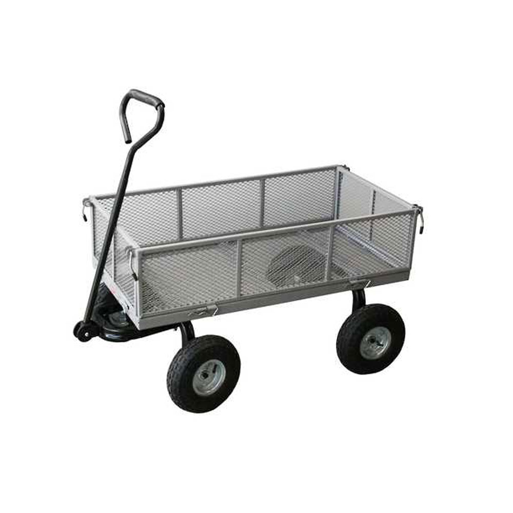 Flat Deck Mesh Trolley Delta Educational