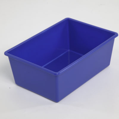 Tote Tray Small Blue