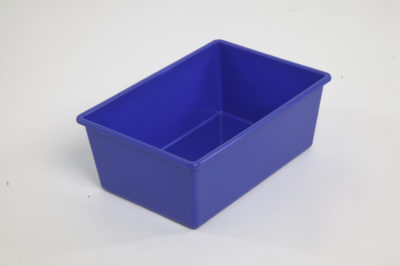 Tote Tray Large Blue