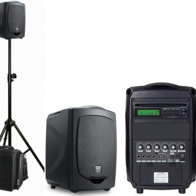 Focus Portable Sound Sys With Mic / Cd