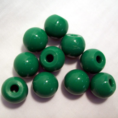 MolecModels3D Chlorine 23mm 1-Hole Green Pk/10