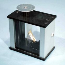 """Electroscope,""""Gold Leaf"""" Type,In Metal H"""