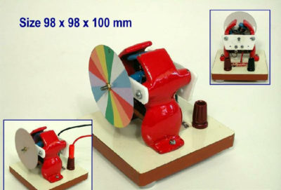 Motor Demonstr. W/ Colour Disc 4-6V DC