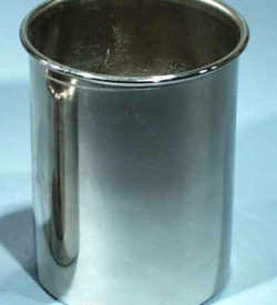 Calorimeter Cups Nickel Plated 75x50mm