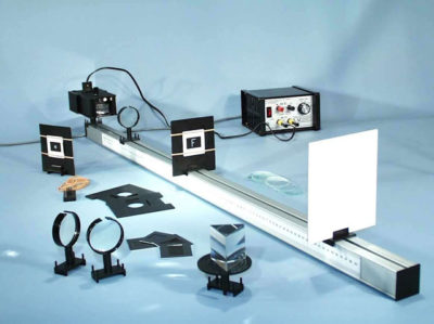Optical Bench & Kit With Light Box