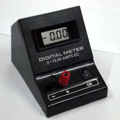 Ammeter Digital 0-19.99A DC