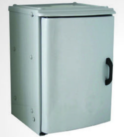 Corrosives Cabinet PVC 70L, One Chamber