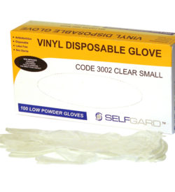 Glove Vinyl Pk/100 Lightly Powdered Large