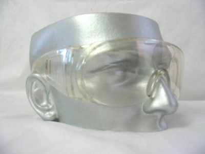 Safety Glasses Poly Lens Ventilated Arms