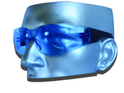 Safety Glasses Funkyspec Poly Lens-Blue