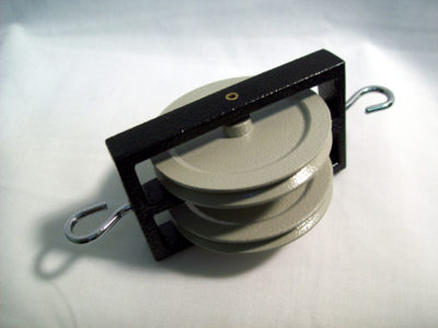Pulley Metal Double 50mm
