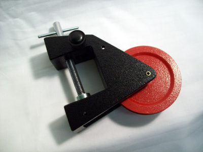 Pulley Single 70mm w-Clamp (38mm Opening)