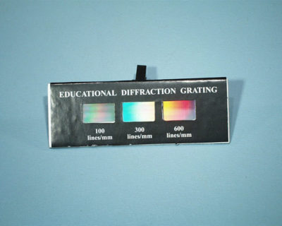 Diffraction Grating 100 300 600 Lines/Mm