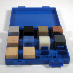 Density Set, 10 Metal Cubes, 25x25mm