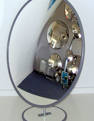 Mirror Convex 600mm On Stand