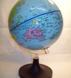 Globe World Political 13cm