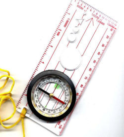 Orienteering & Mapping Compass