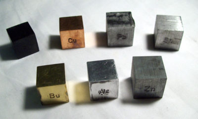 Cubes Metal Assorted 20x20mm