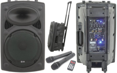 Self-Contained Portable Pa Unit