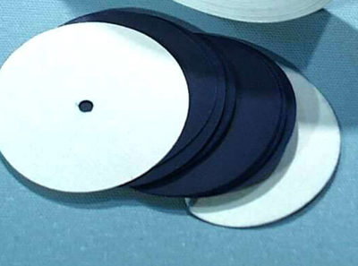 Ticker Timer Carbon Disc 45mm Diameter pk/100 IEC