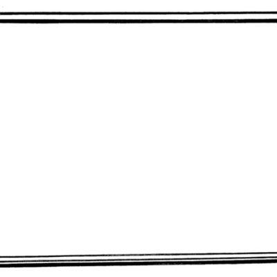Acrylic Magnetic Whiteboard (500  x 700)