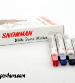 SNOWMAN WHITEBOARD MARKER