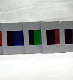 Colour Filters Set/8 for 43LBE