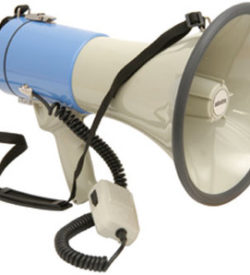 Megaphone with Siren 25W