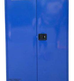Corrosives Cabinet 250L, 3 shelves