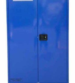 Corrosives Cabinet 350L, 3 shelves